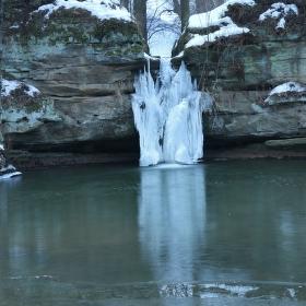 Dolanský vodopád.