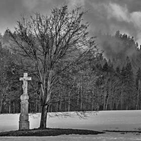Křížek pod Ostaší