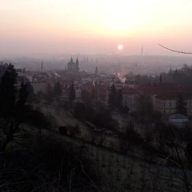 Ráno pod Strahovem