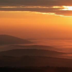 Východ slunce z Pancíře
