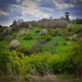 Jaro na Erbenově vyhlídce