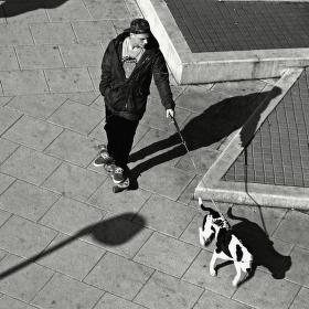 ... pohodář a pes