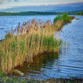 Ráno 5:28 na jezeře Milada ....