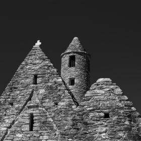 Glendalough-St. Kevin's church