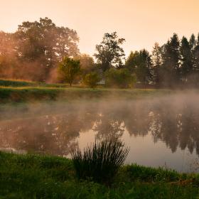 ráno v Borovci