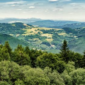 Pohled z Velkého Lopeníku