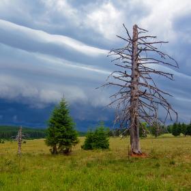 bouře na Staré Huti