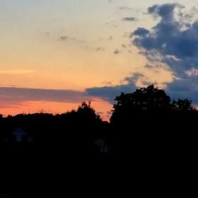 ..Krásné barvy po západu slunce..