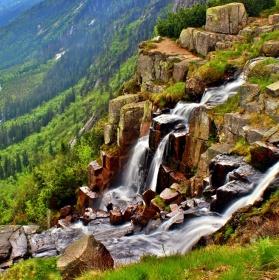 Pančavský vodopád.