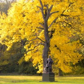 památník Cyrila a Metoděje v Mikulčicích