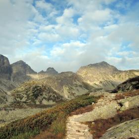 cesta do sedla Prielom