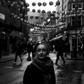 Žena v Čínské čtvrti