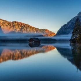 Mlhavé podzimní ráno