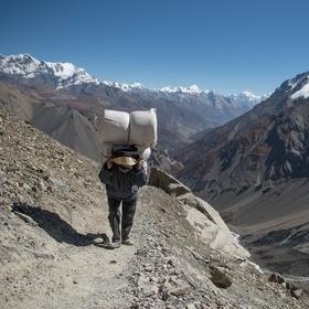 Život v horách...