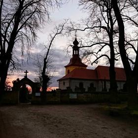 Kostel Svatý Gothard v Hořicích