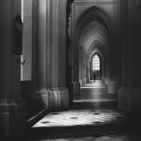 in cathedral