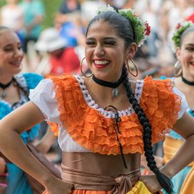tanečnice z Kostariky