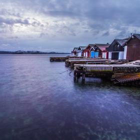 Norská rybářská vesnička