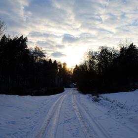 Zimní cesta za sluncem