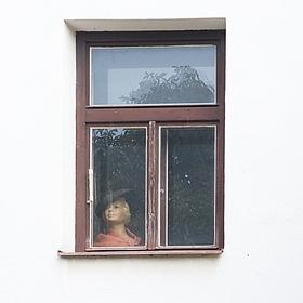 Dáma v okně