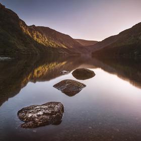 Glendalough Upper Lake, Wicklow
