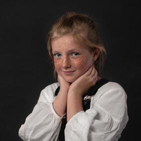 Portrét malé dívky