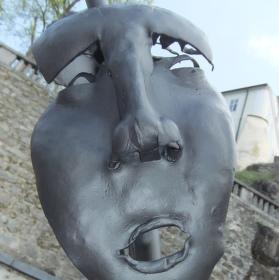 Železná maska.