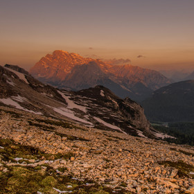 Ráno na horách