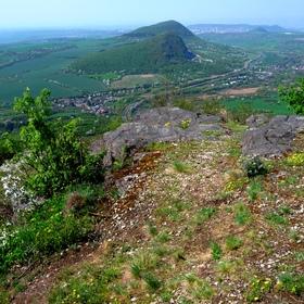 Výhled z Bořně