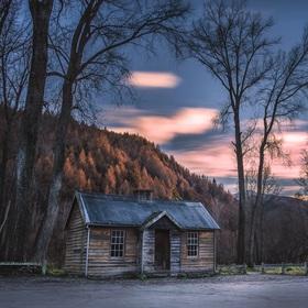 cutest cabin ever :)