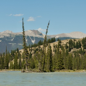 na řece Athabasca