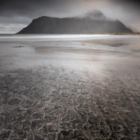 Skagsanden beach_3_Lofoty__Norsko