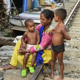 Matka s dětmi