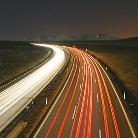 Nočná cesta do Tatier