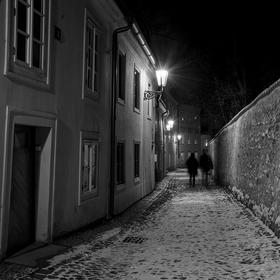 Zimní procházka po Novém Světě