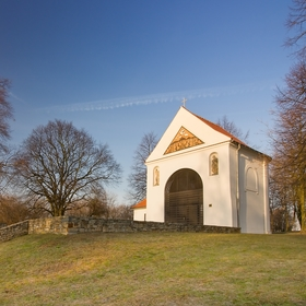 Kaple sv. Rocha v parku Rochus