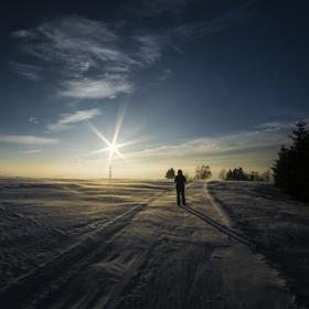Na sněhových pláních