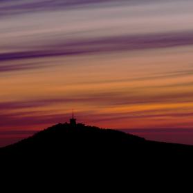 Svítání nad Lysou horou