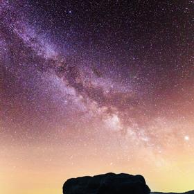 Noční obloha nad Goldsteinausicht