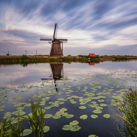 Větrné mlýny v Kinderdijku :-)