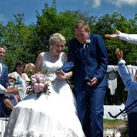 házení rýže - svatební tradice