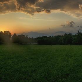 Včerejší východ slunce