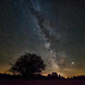 Šumavské letní nocování