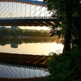 Ranní Trojský most