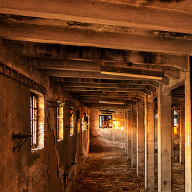 Světlo v hale