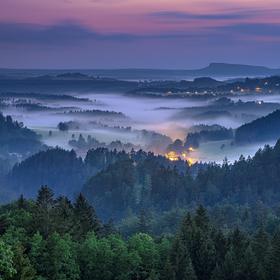 údolí Jetřichovic