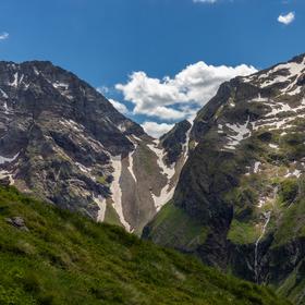 Dva krasavci v Alpách