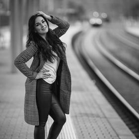 Na vlakovém nádraží