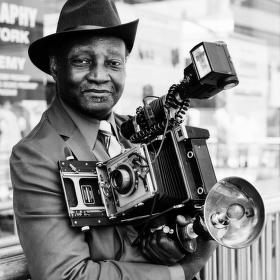 Fotograf v New Yorku