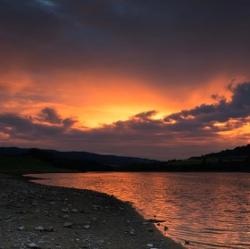 Večer u přehrady